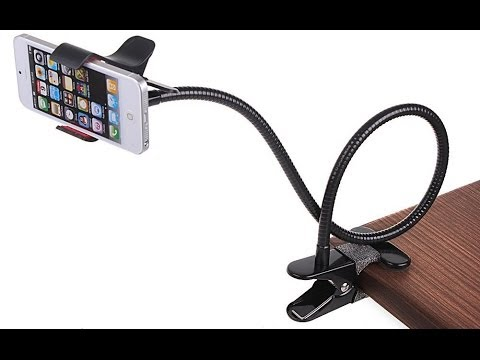 Universal Flexible Long Arm Lazy Mobile Phone Holder / Stand - Unboxing