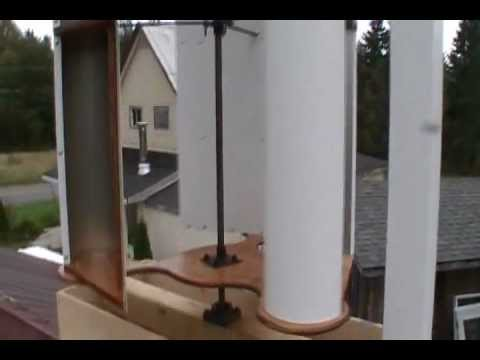 How To Make A Vertical Axis Wind Turbine: Part 4
