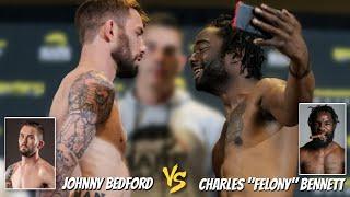 "Johnny Bedford vs. Charles ""Felony"" Bennett | BKFC 9"
