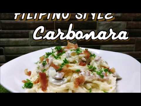 FILIPINO STYLE CARBONARA