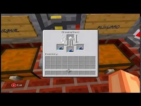 How to make a swiftness potion on Minecraft xbox360