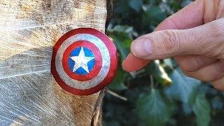 THROWING Captain America