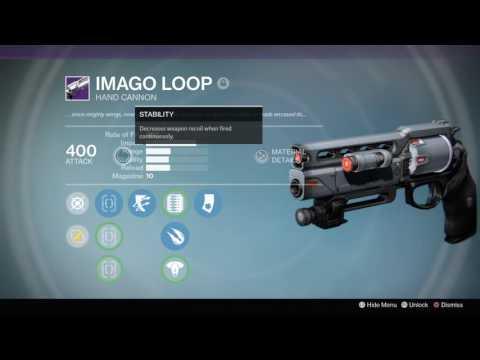God Roll imago loops  and Fatebringer rolls