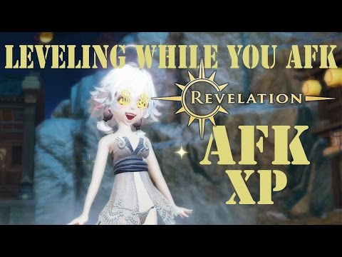 Revelation Online - AFK Leveling. Hot Springs and Fishing.