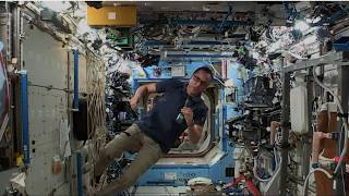 Astronaut Discusses Life in Space with West Virginia Students