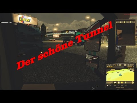 Euro Truck Simulator 2 Multiplayer #14 - Schöner Tunnel