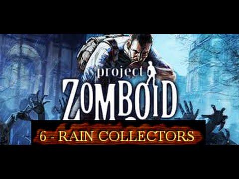 Project Zomboid HD [Rain Collector Barrels]