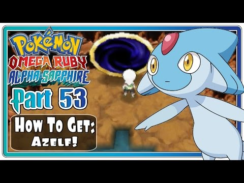 Pokemon Omega Ruby and Alpha Sapphire - Part 53: How To Catch Azelf! (FaceCam)