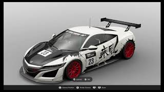 Gran Turismo Sport Livery Editor Tutorial  - Ink Spill Style Livery
