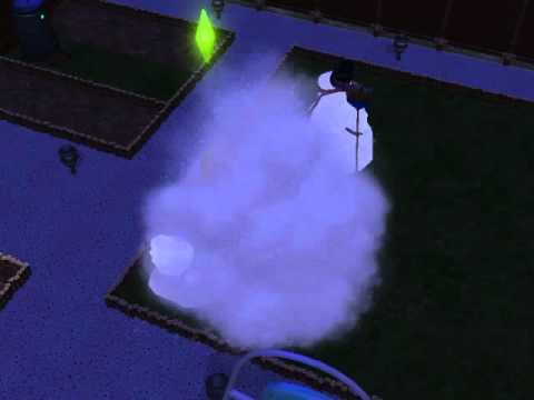 My Sim Are Destroy A SnowMan!!!!!!! HD