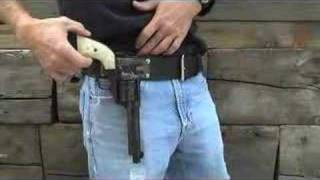 Bridgeport Rig demo - cowboy action shooting