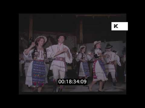1970s Romania, Folk Dancing in HD from 35mm | Kinolibrary