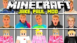 Minecraft JAKE PAUL MOD | JAKE PAUL AND TEAM 10! | Modded Mini-Game