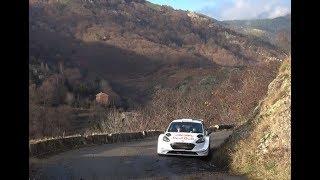 Highlights tests pré Rallye Monte Carlo 2018 Sébastien Ogier by Ouhla lui