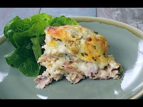 Chicken and Bacon Lasagna