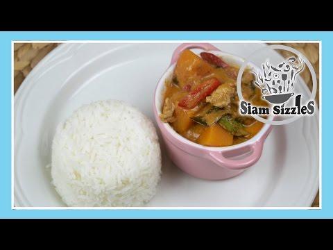 Pumpkin (Or Butternut Squash) Pork Curry (Gang Fak Thong Moo)