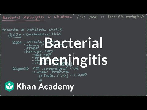 Bacterial meningitis | Miscellaneous | Heatlh & Medicine | Khan Academy