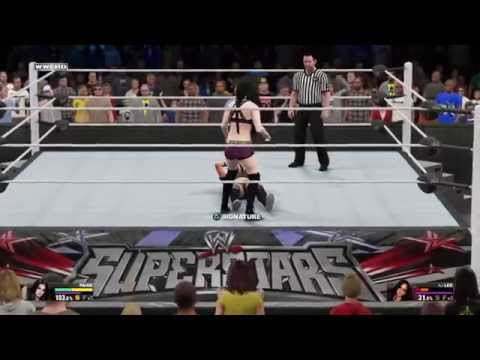 WWE 2K15 PAIGE ENTRANCE, SIGNATURES, FINSHERS, WINNING ANIMATION (PLUS CHAMP VERSIONS)