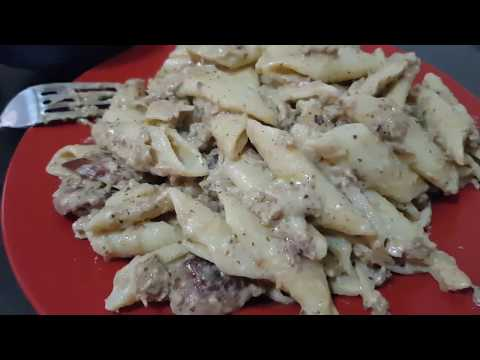 Creamy Tuna Pasta. Cooking in the Philippines.