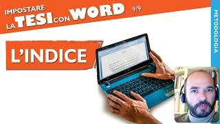 [Tutorial 24] Scrivere una tesi con Word: l