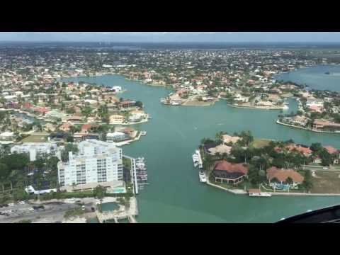 Helicopter flight - Ft. Myers Beach - Naples - Marco Island