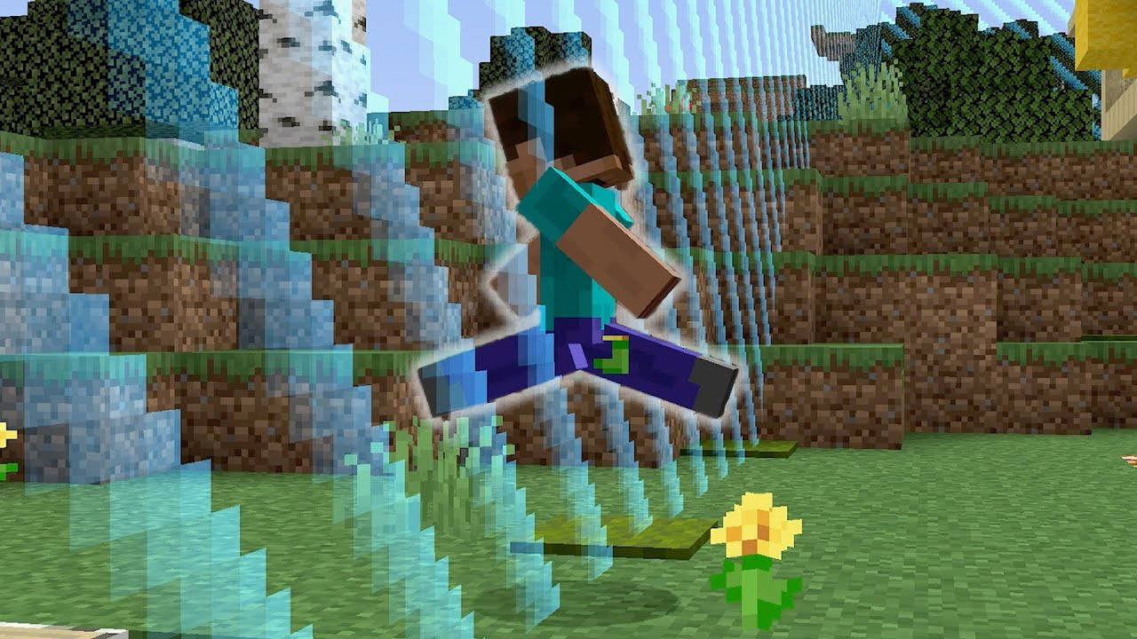 How We Escaped the Border in the 100 by 100 Minecraft World