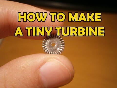 How to make a Tiny Turbine Wheel [Tutorial]