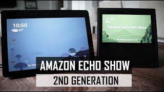 Amazon Echo Show 2nd Generation vs 1st Generation