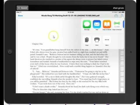 PDF to iBooks Tutorial