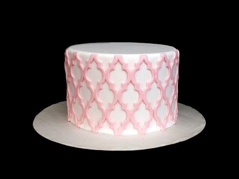 Silicone Onlays--Intricate Cake Designs Made Easy