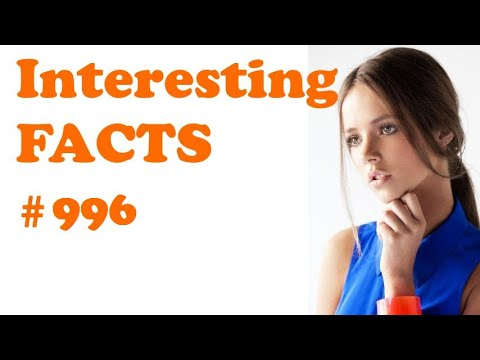 Cool random facts #996