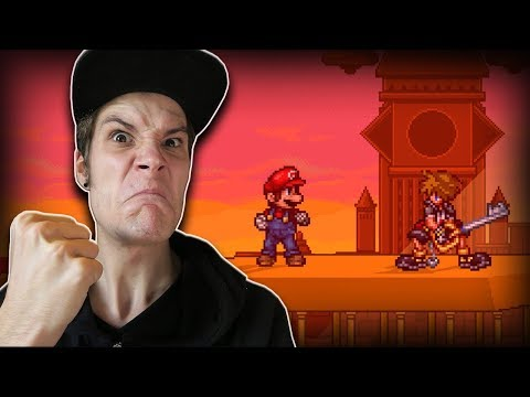Getting BODIED as Sora in Super Smash Flash