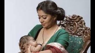 Breaking norms | Malayalam Magazine Grihalakshmi features breast-feeding model Gilu Joseph on cover