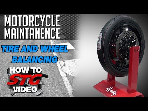 How To Balance a Motorcycle Tire and Wheel from SportbikeTrackGear.com