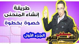 طريقة إنشاء المنحنى خطوة بخطوة جزء 1 مع الأستاذ أضرضور مصطفى