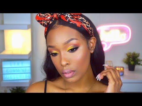 Colorful Spring Makeup | FabulousBre