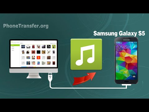 How to Import Music / Audio from Mac to Samsung Galaxy S5, Transfer Songs to Galaxy S5 on Mac