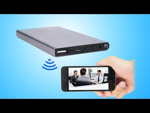 WISEUP Network Configuration Guide of Power Bank WIFI Camera (Model Number: WIFI24)