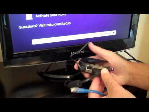 Set-up Roku 3, Instructions on how to perform each step.