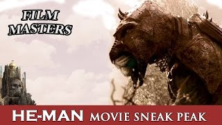 He-Man first look at Battle Cat from the new movie | Film Masters
