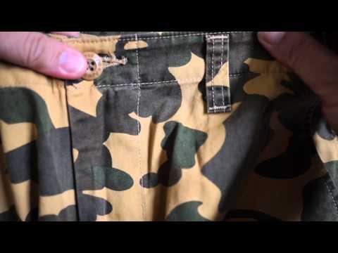 a9650425e8ed Bathing Ape BAPE Vintage Military Cargo Army Chino Pants Unboxing
