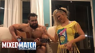 Rusev & Lana do their best Elias & Bayley impression en route to WWE Mixed Match Challenge