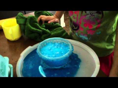 Exploding Egg Dye
