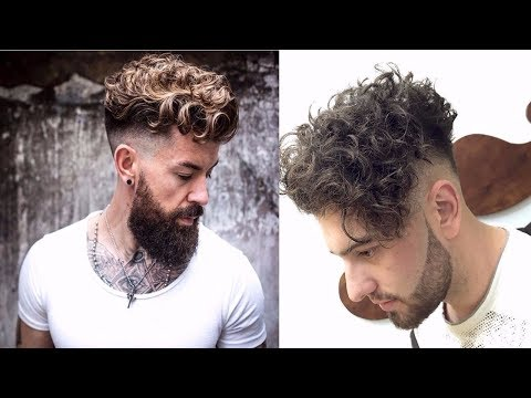 10 New Sexiest Curly Hairstyles For Men 2017-2018 | 10 Best Stylish Curly/Wavy Hairstyles 2017