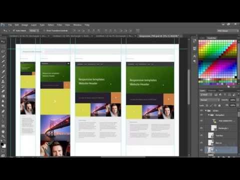 et3alem.com | Creating responsive templates in Photoshop