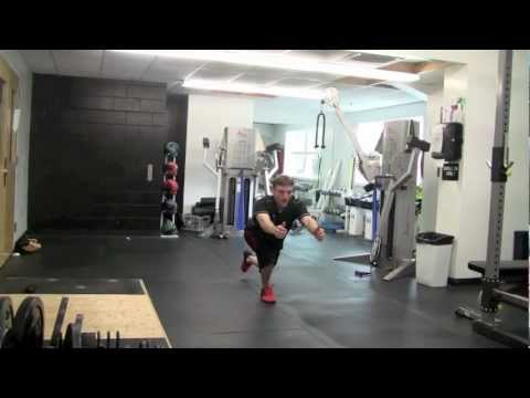 Lower Body Exercises For Basketball - Strength Training For Basketball - SL Excursion