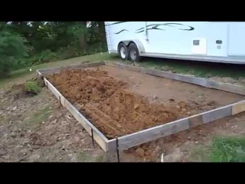Update on our RV Concrete Patio Pad Project