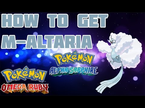 How to Get Mega Altaria in ORAS - Mega Stone Location Guide
