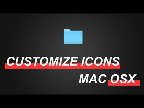 HOW To CHANGE folder ICONS in MAC OS X (30 sec TUTORIAL )