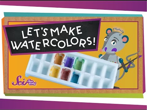 Make Your Own Watercolors! #sciencegoals